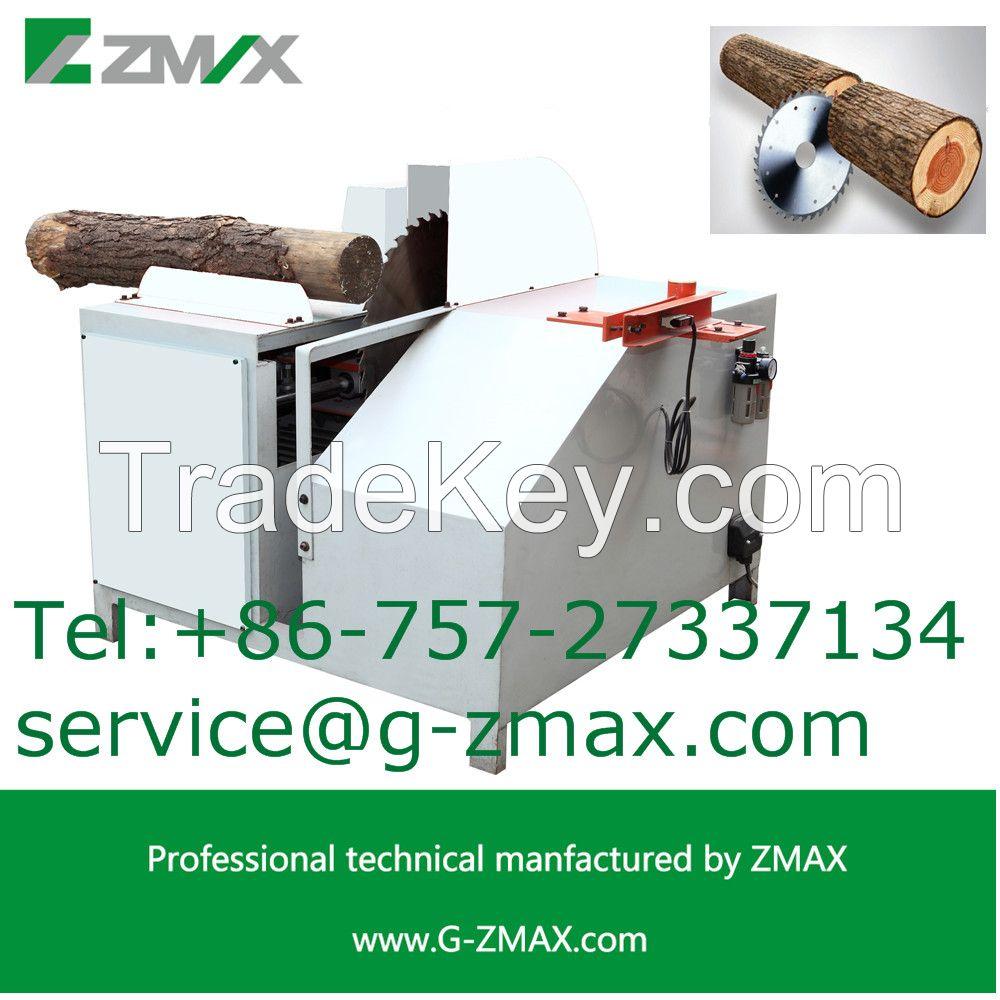 ZAMX Log cut-off saw machine MJ-1600