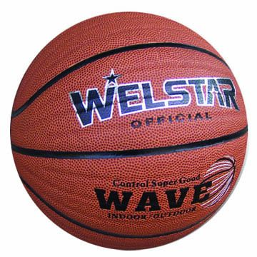 Basketballs, Customized Logos are Accepted, Made of PU,PVC,Rubber