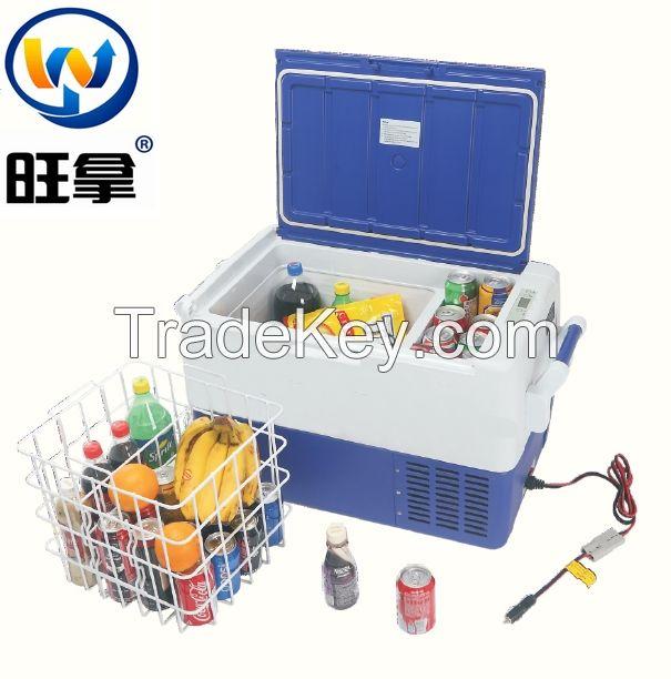 12DC portable solar power car mini fridge freezer By ningde welcome