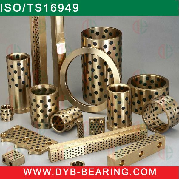 JDB Bush, Solid Bronze Graphite bush, Copper bush, SOB Brass bush