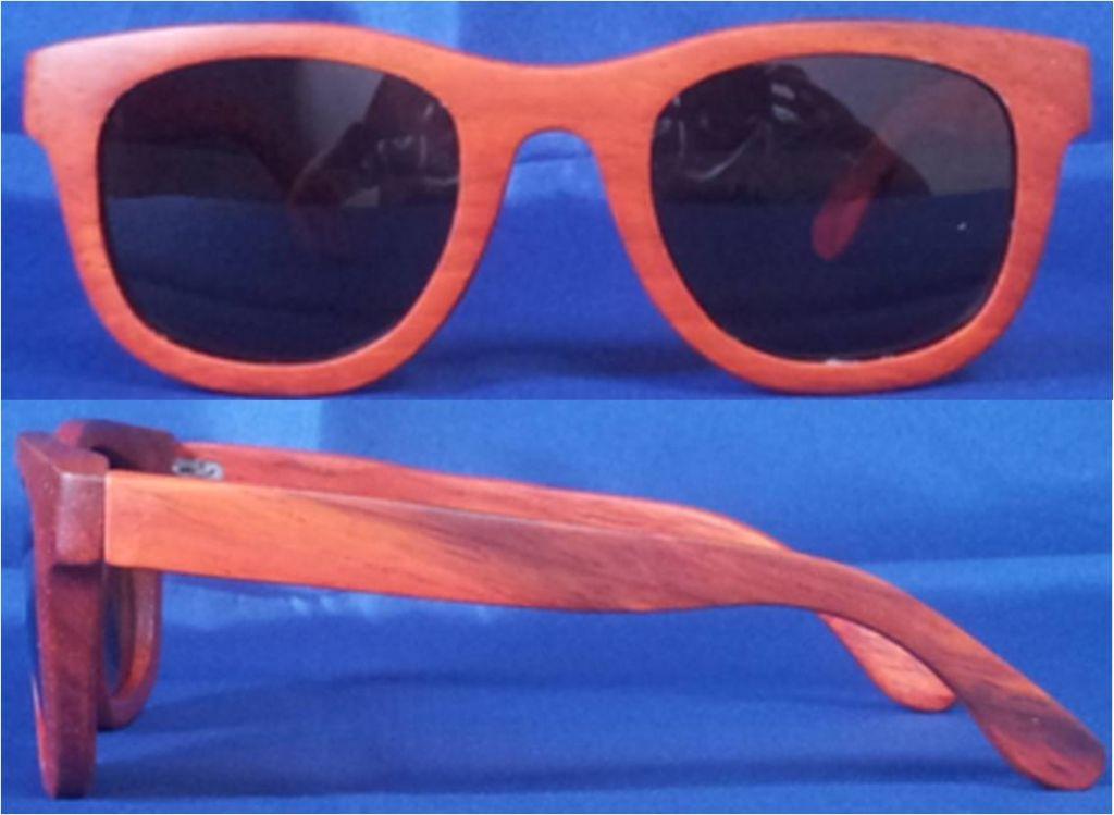 Wood sunglasses unisex