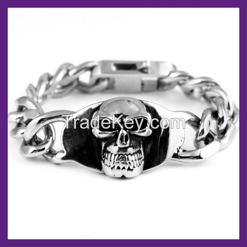 the fashion stainless steel bracelet,men's bracelet,wholesale bracelet