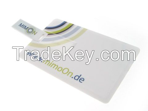 Mini credit card USB Flash Drives