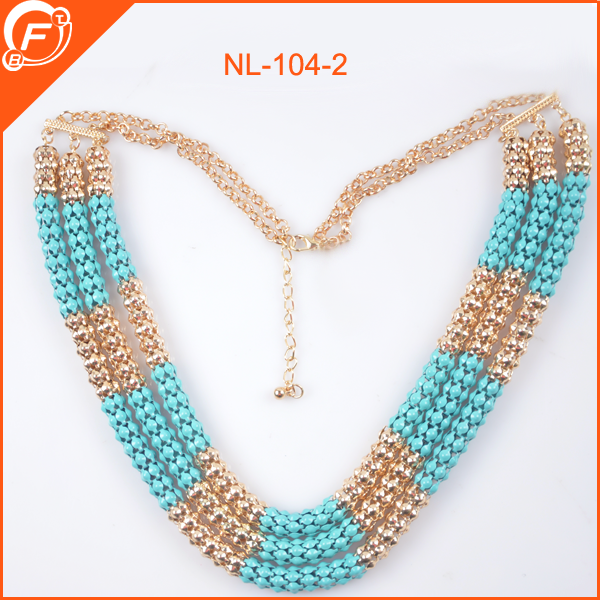 newest fashion women crystal necklace for garments decoration