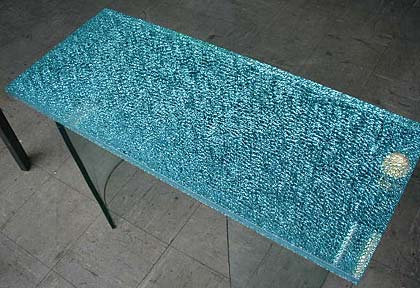 ice laminated glass