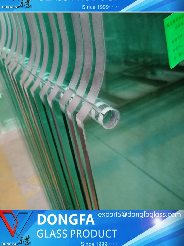 Economical high quality toughened glass for commercial building