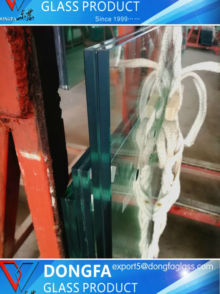 Jumbo size toughened laminated glass for facade storefront