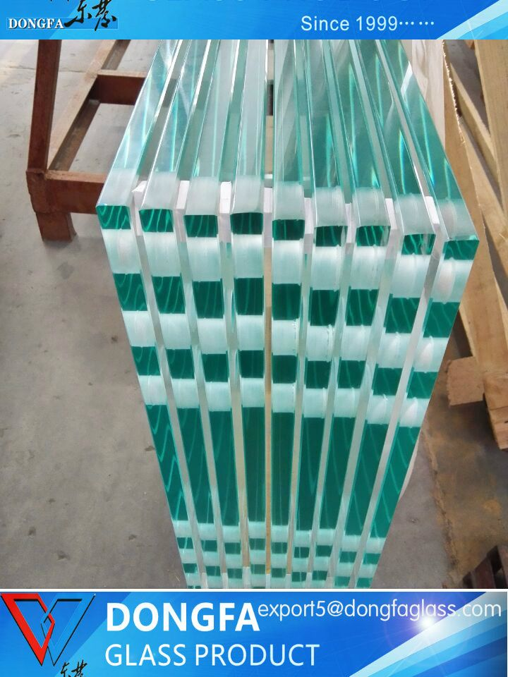 8-25mm tempered safety glass for commercial building