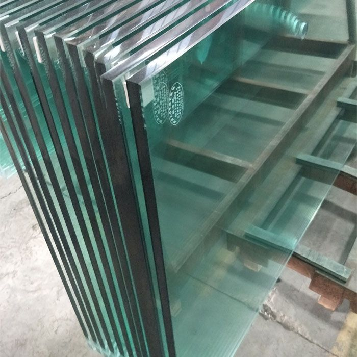 10mm 12mm Clear Tempered Glass for Partition and Railing