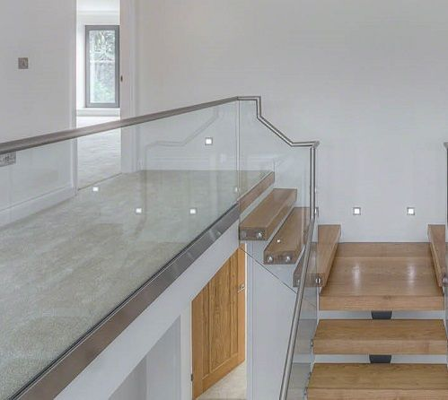 12mm Ultra Clear Safety Tempered Glass Staircase Railings Price in China