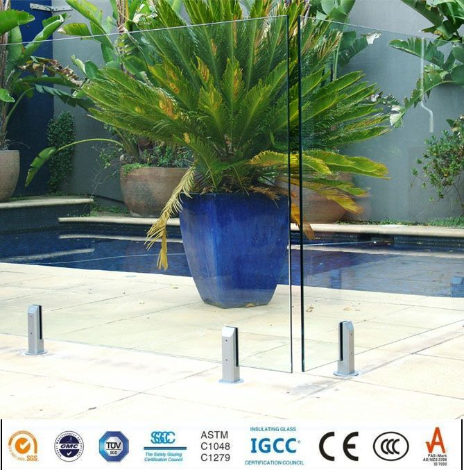 glass swimming pool fencing glass balustrade