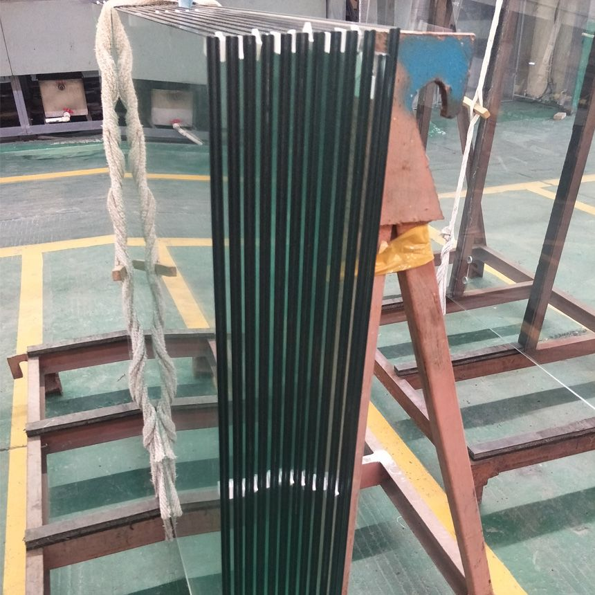 Flat or Bend Tempered Laminated Safety Glass for Balustrade Fence