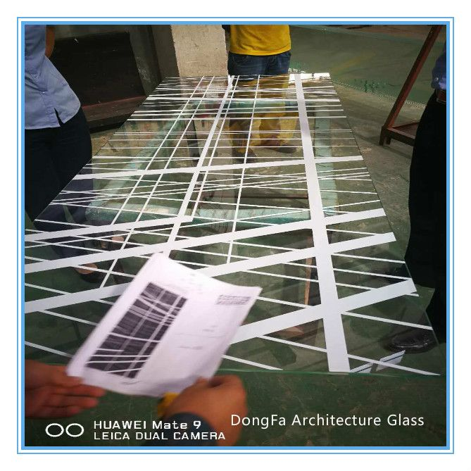 Irregular Size Architectural Glass Customized with ANSI Z97 Approved