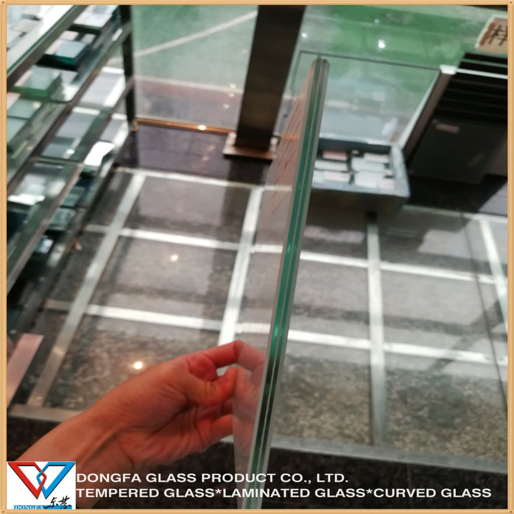 Opaque White Laminated Glass As2208 ANSI Approval