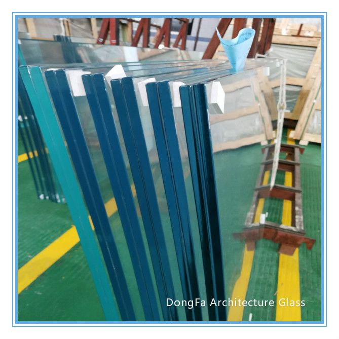 13.5 mm 17.5mm 21.5mm  patio pool staircase balustrade fence toughened glass price per square meters