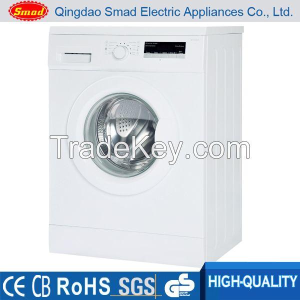 Front loading washing machine with electronic controller/laundry washi