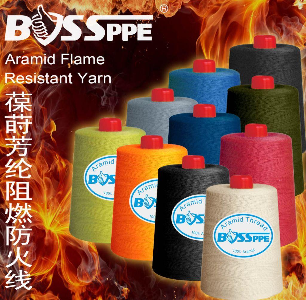 Aramid Kevlar Cable Filler Yarn Falme Resistant Sewing Yarn