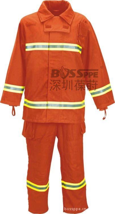 Firefighter uniforms PBI fire resistant clothing