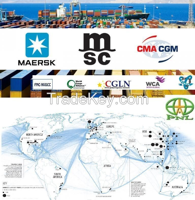 Comprehensive Shipping Services From/to China With Best Prices