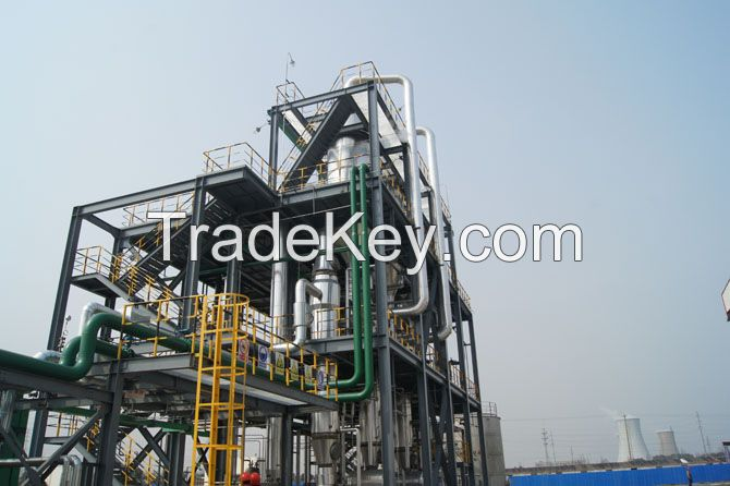 Epoxy resin waste water treatment design