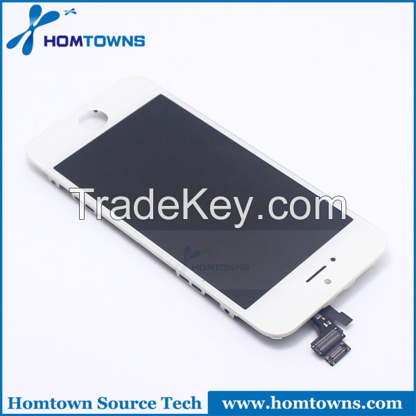 Original white and black  lcd assembly for iphone4,4s, 5,5s