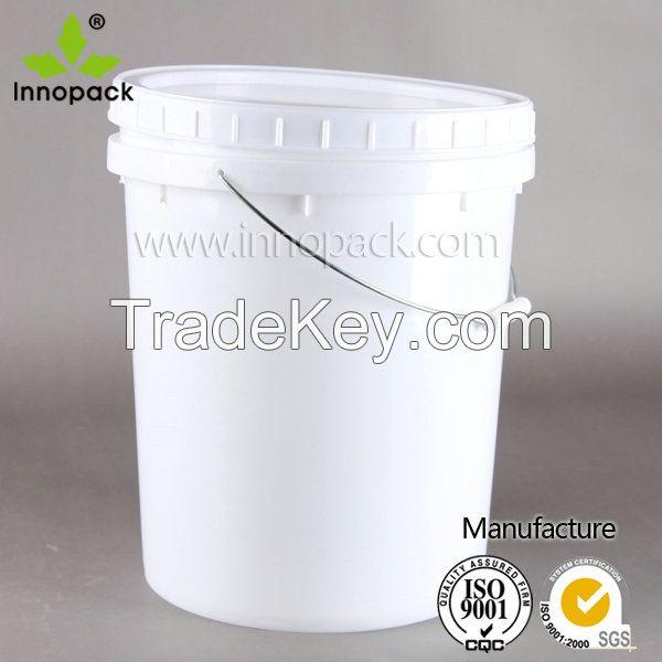 20L plastic pail Screw Lid