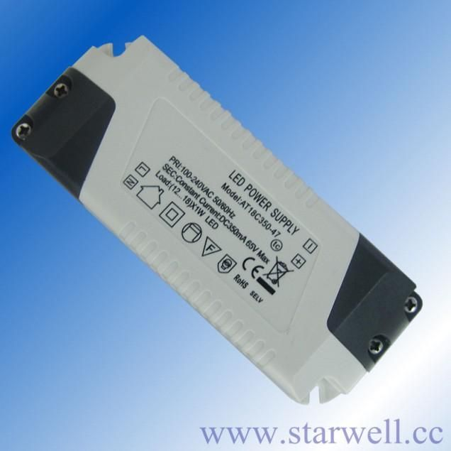 12V / 24V constant voltage led driver with high efficiency and high PF