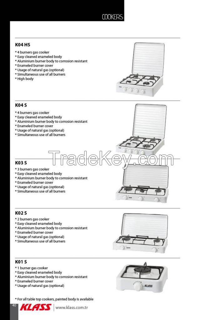 Electric Oven, Gas Oven, gas cooker