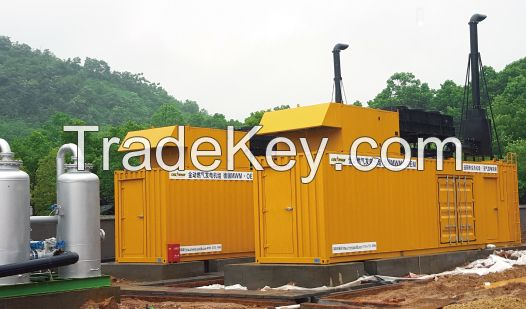 Mwm 800kw Natural Gas Generator for Power Station