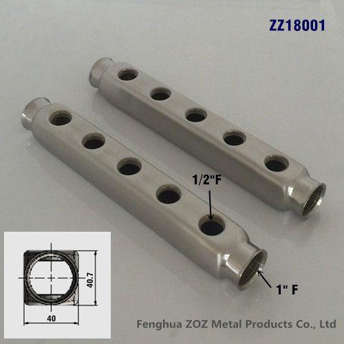 Stainless steel 304 bar manifold for Underfloor Heating