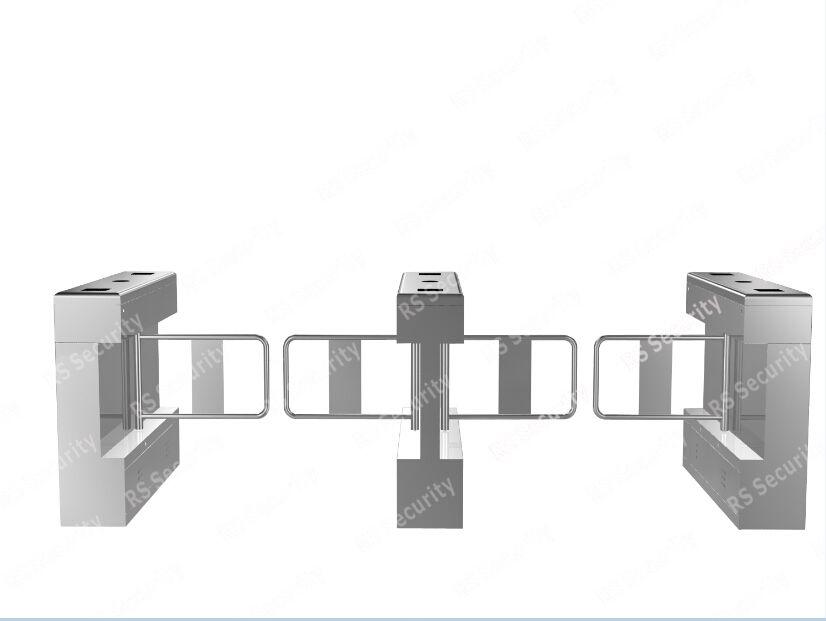 Waterproof IR Sensor Swing Gate Turnstile