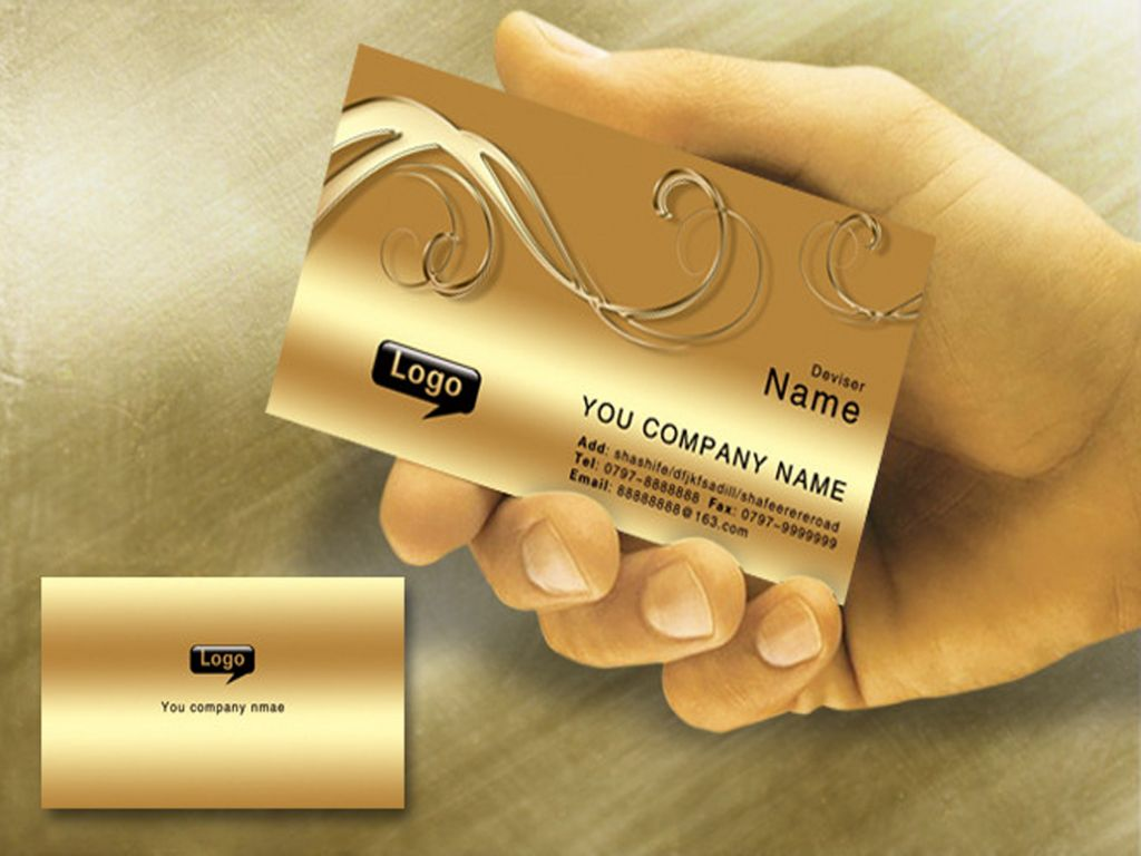 OEM high quality business card / greeting card with competitive price