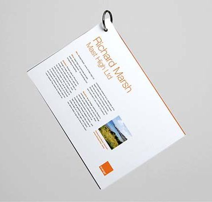 OEM brochure printing service with competitive price
