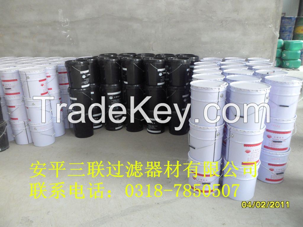 super glue for non-foam filter