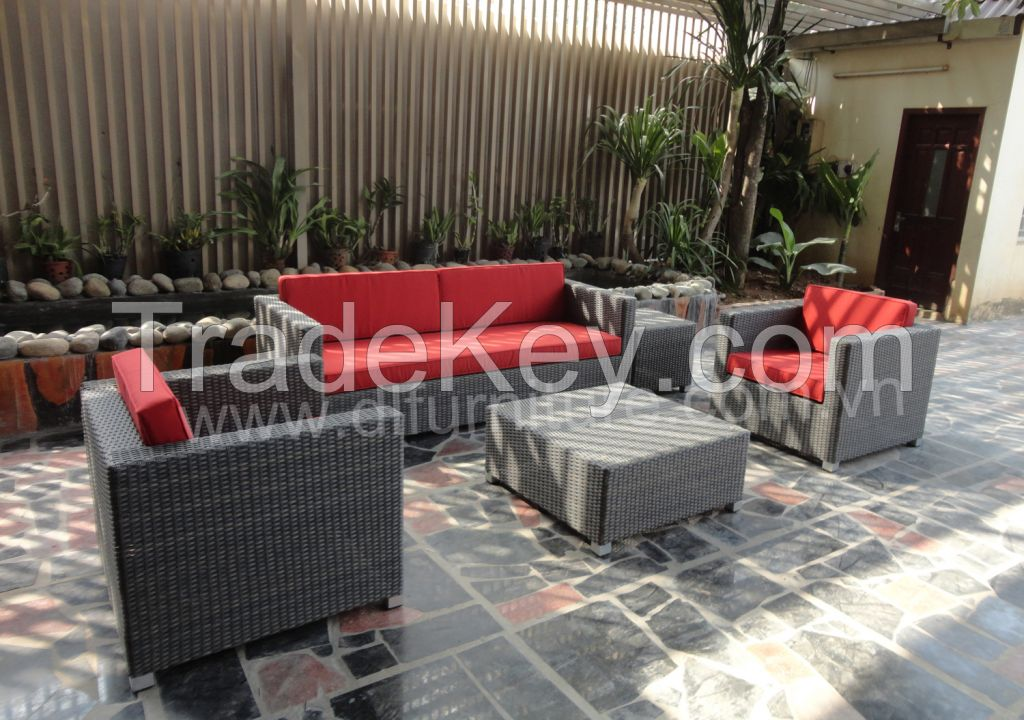 Sofa set outdoor garden furniture