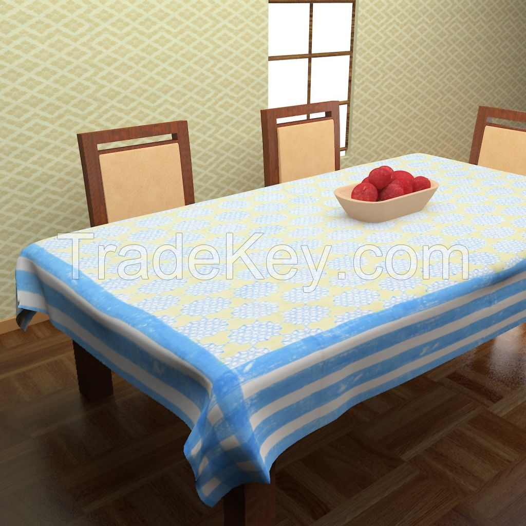 MYYRA Table Cover Hand Block Printed