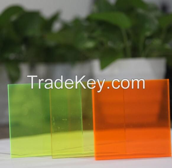 2.8mm fluorescent acrylic sheet