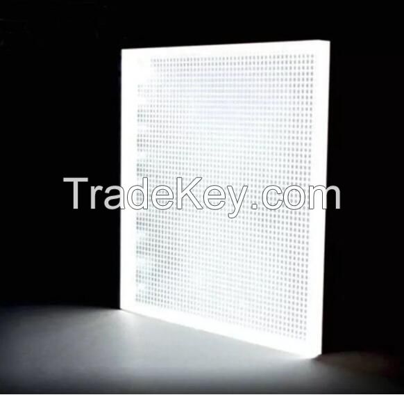 Acrylic sheet for light guide plate