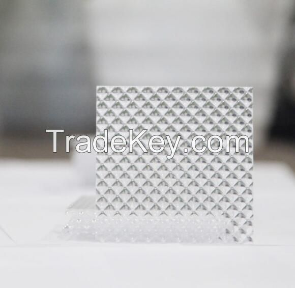 3mm clear pyramid acrylic sheet