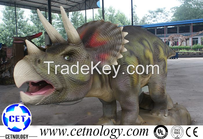 Amusement park High Simulation Artificial Dinosaur(Triceratops)