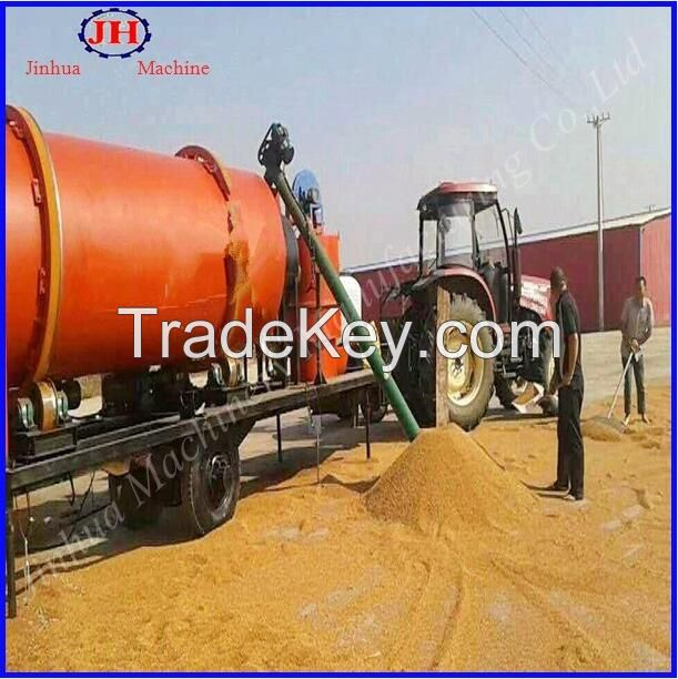 Mobile Grain Dryer, Con Dryer, Rice, Paddy, Maize, Wheat Dryer