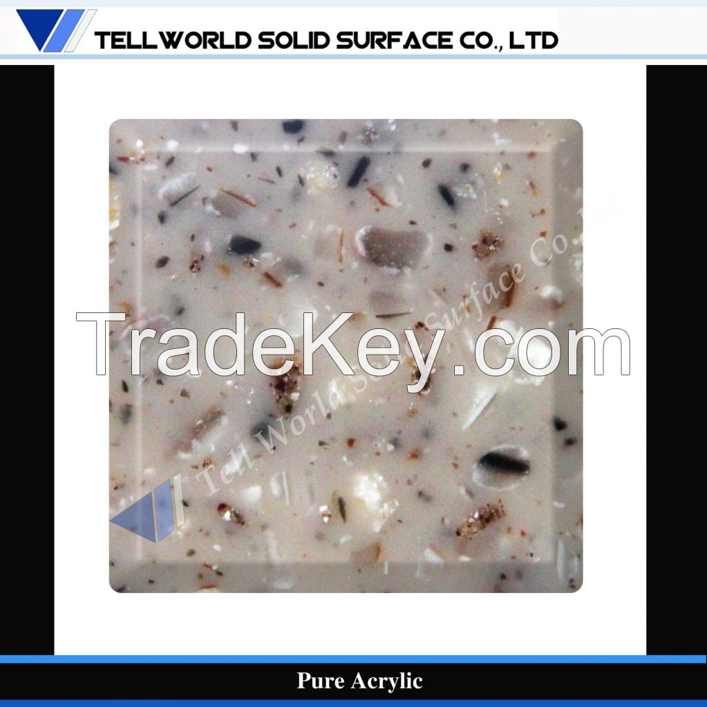 Factory Supply High Quality Acrylic Solid Surface/Marble Counter top Slab