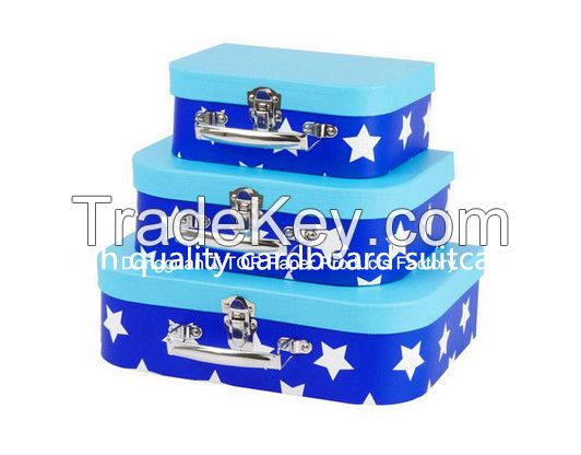 customized handle suitcase box,paperboard pringting box,accept customized