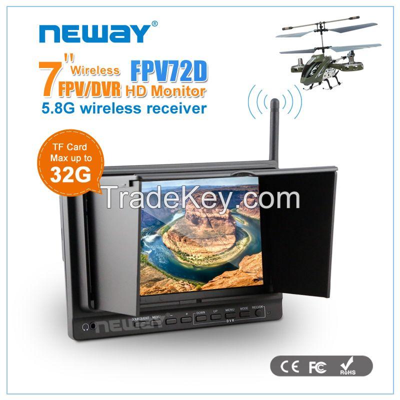 7 inch 5.8GHz wireless receiver HDMI AV Drone FPV monitor