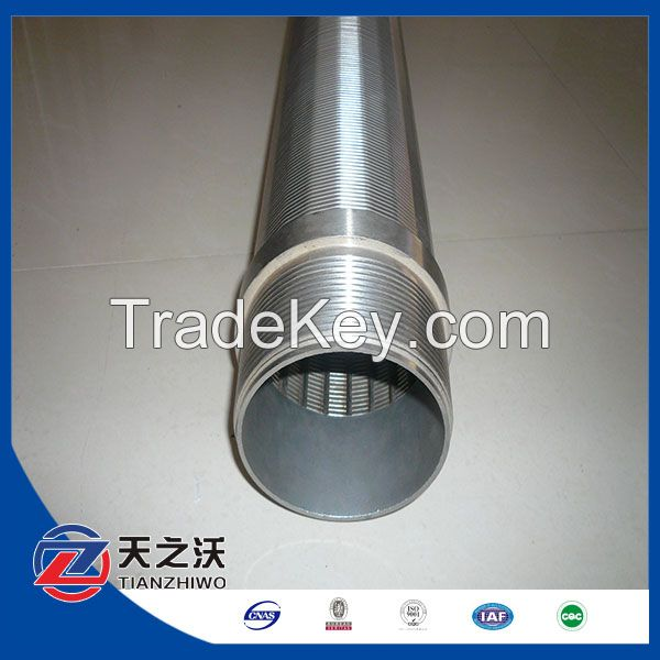 Welded Stainless steel johnosn screen pipe for water well