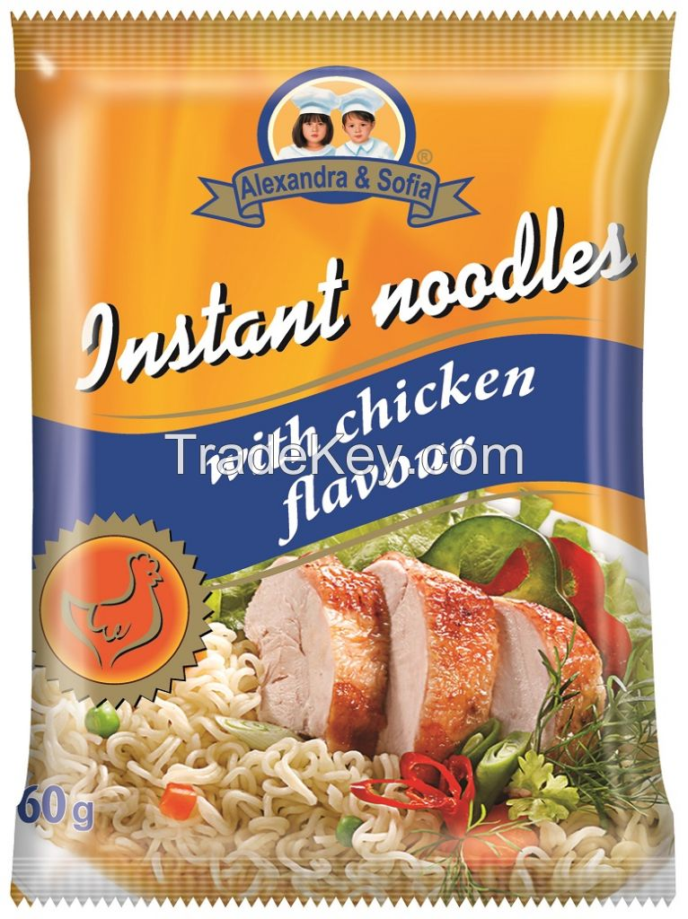 Instant noodles 60g pack