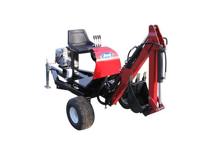 ATV EXCAVATOR TOWABLE BACKHOE