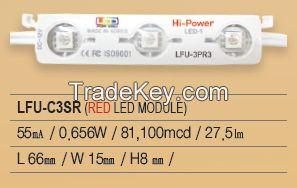 LED Module, Samsung chip, 3P Series, LFU-C3SR