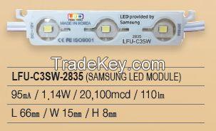 LED Module, Samsung chip, 3P Series, LFU-C3SW-2835
