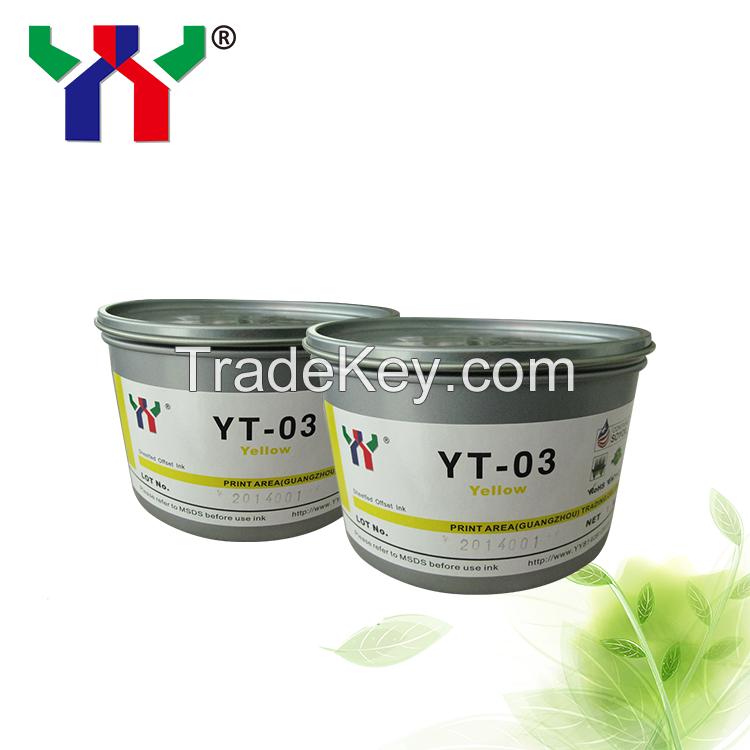 YT-03 Anti skinning glossy offset printing ink